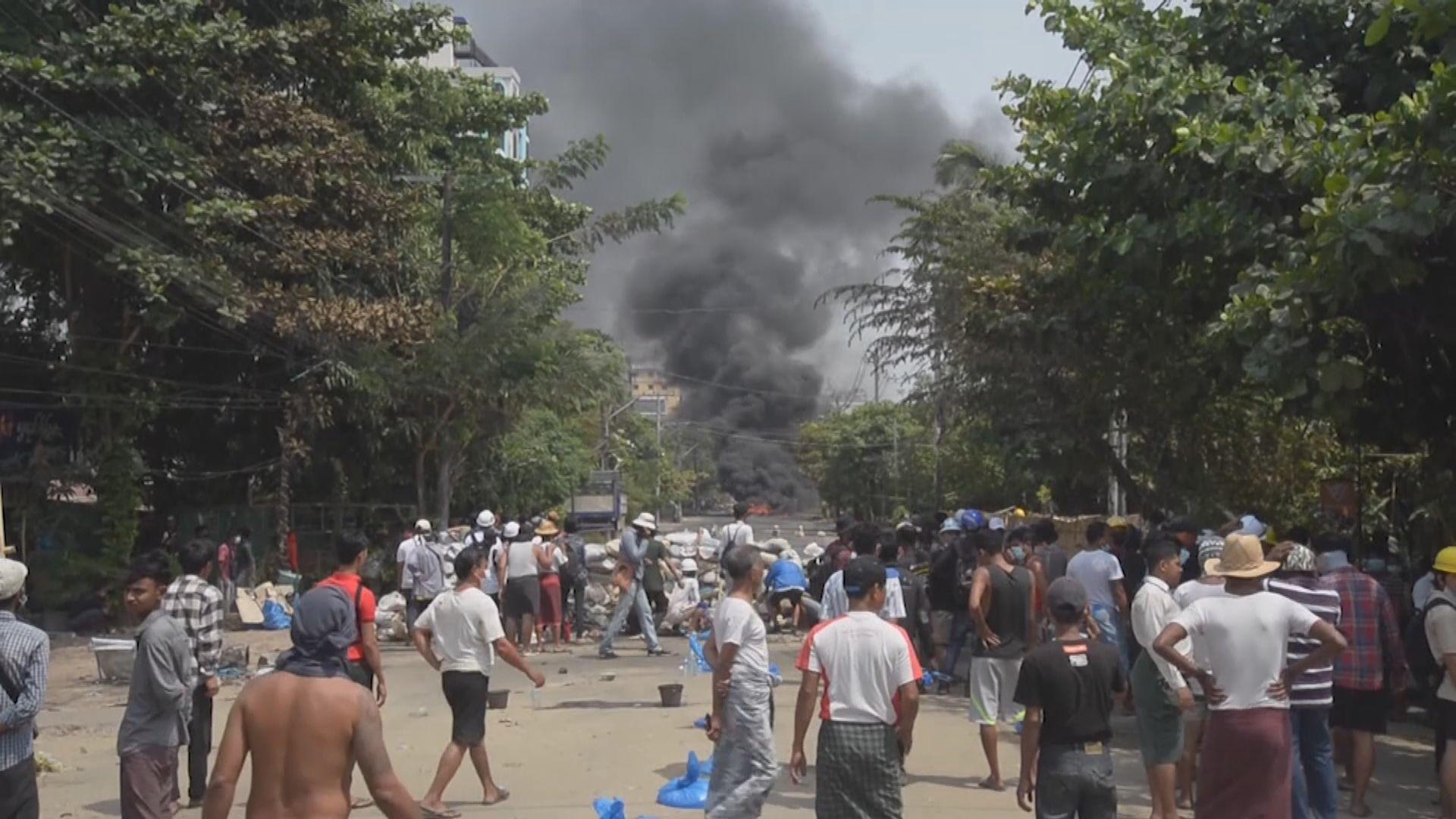 緬甸軍方續鎮壓示威 安理會據報將閉門開會討論