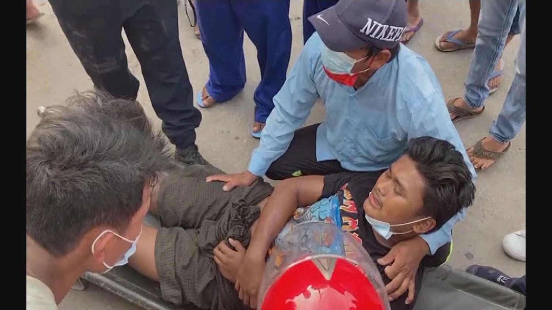 英美等多國譴責緬甸軍方暴力鎮壓示威者