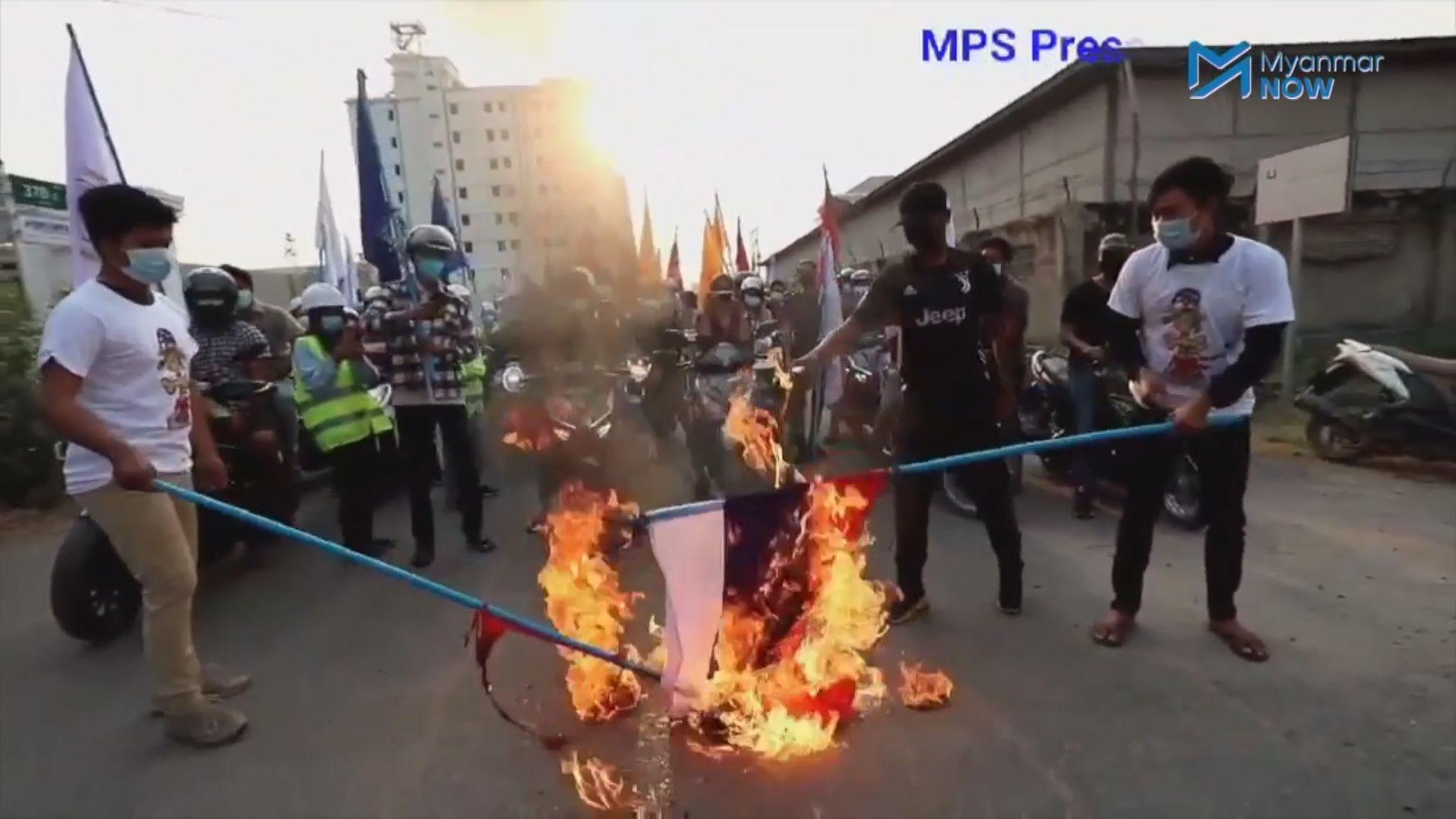 緬甸軍警在勃固開槍驅散示威 據報至少20人死亡