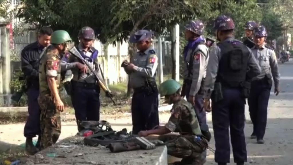 緬甸若開邦首府連環炸彈爆炸