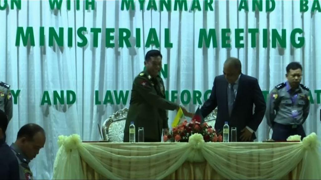 緬甸同意阻止羅興亞人逃亡孟加拉