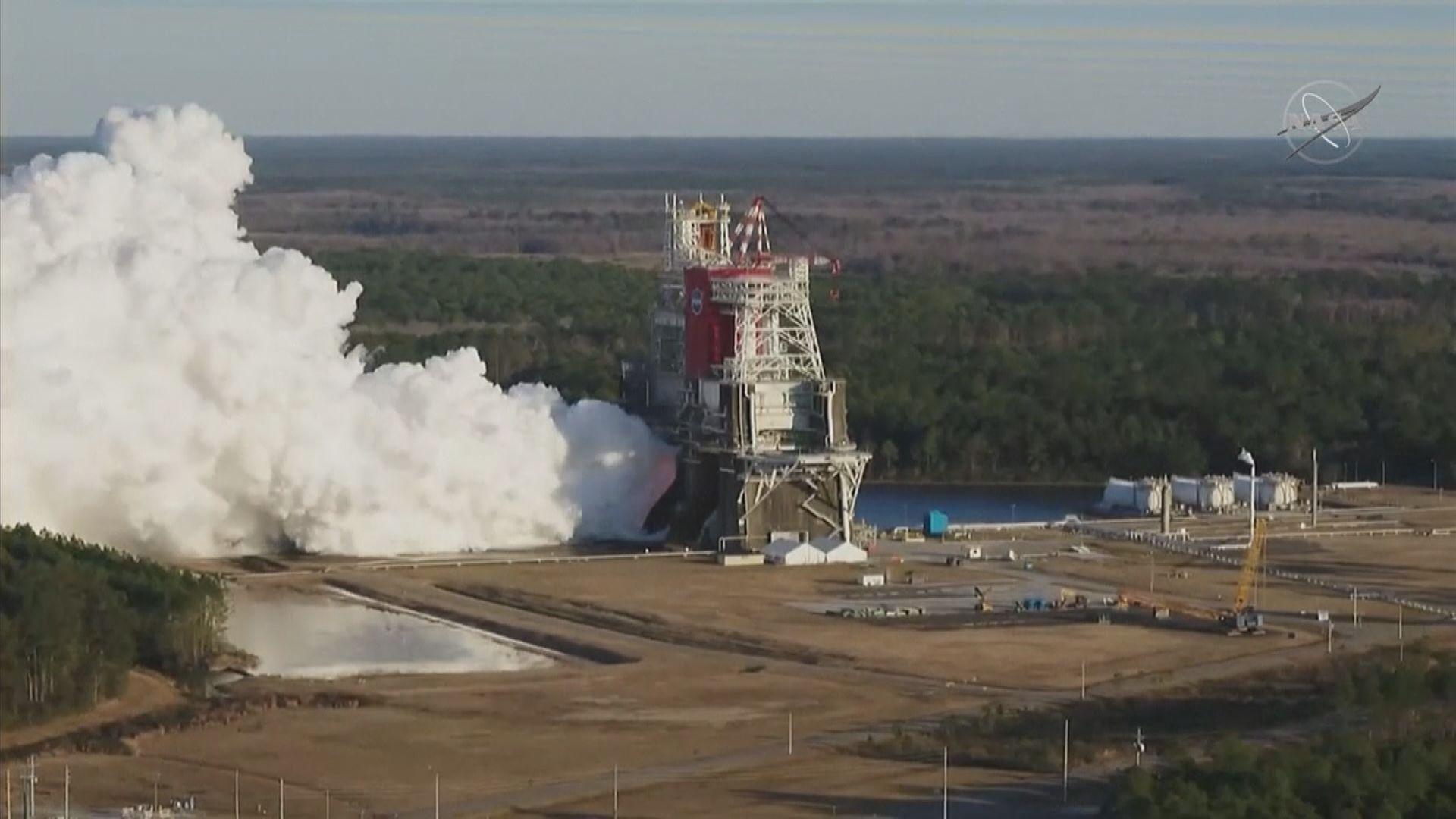 美國「太空發射系統」引擎測試提前結束 原因未明