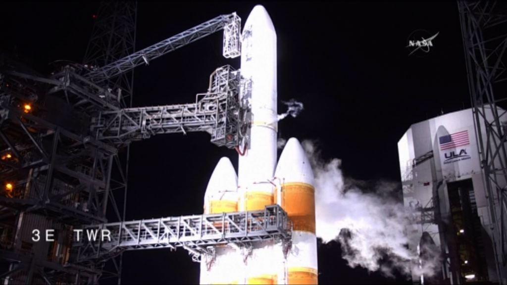 美國帕克太陽探測器押後發射
