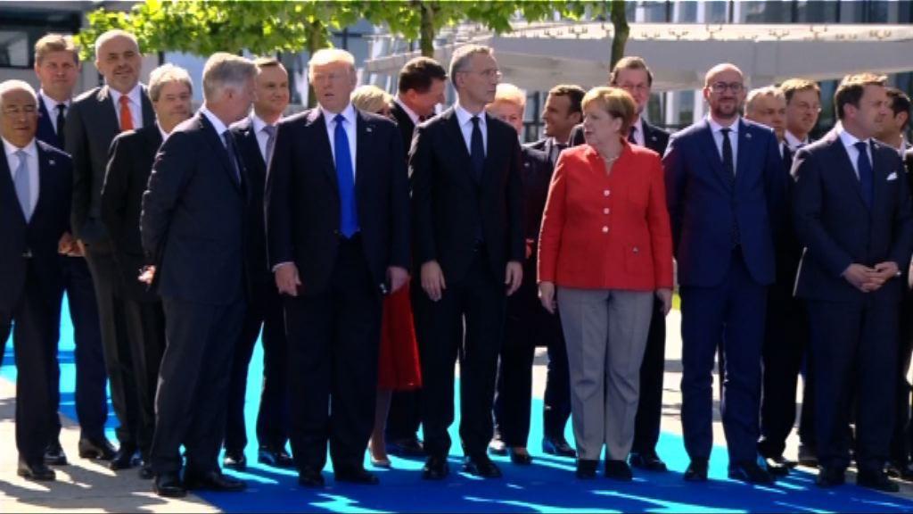 特朗普首次出席北約峰會