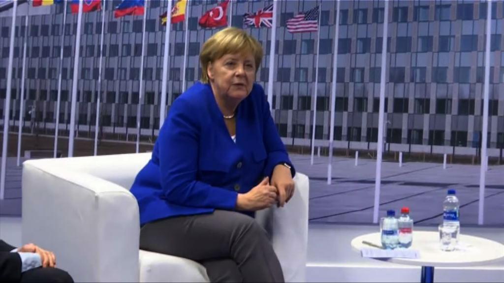 德國總理默克爾強調德國可以獨立決策
