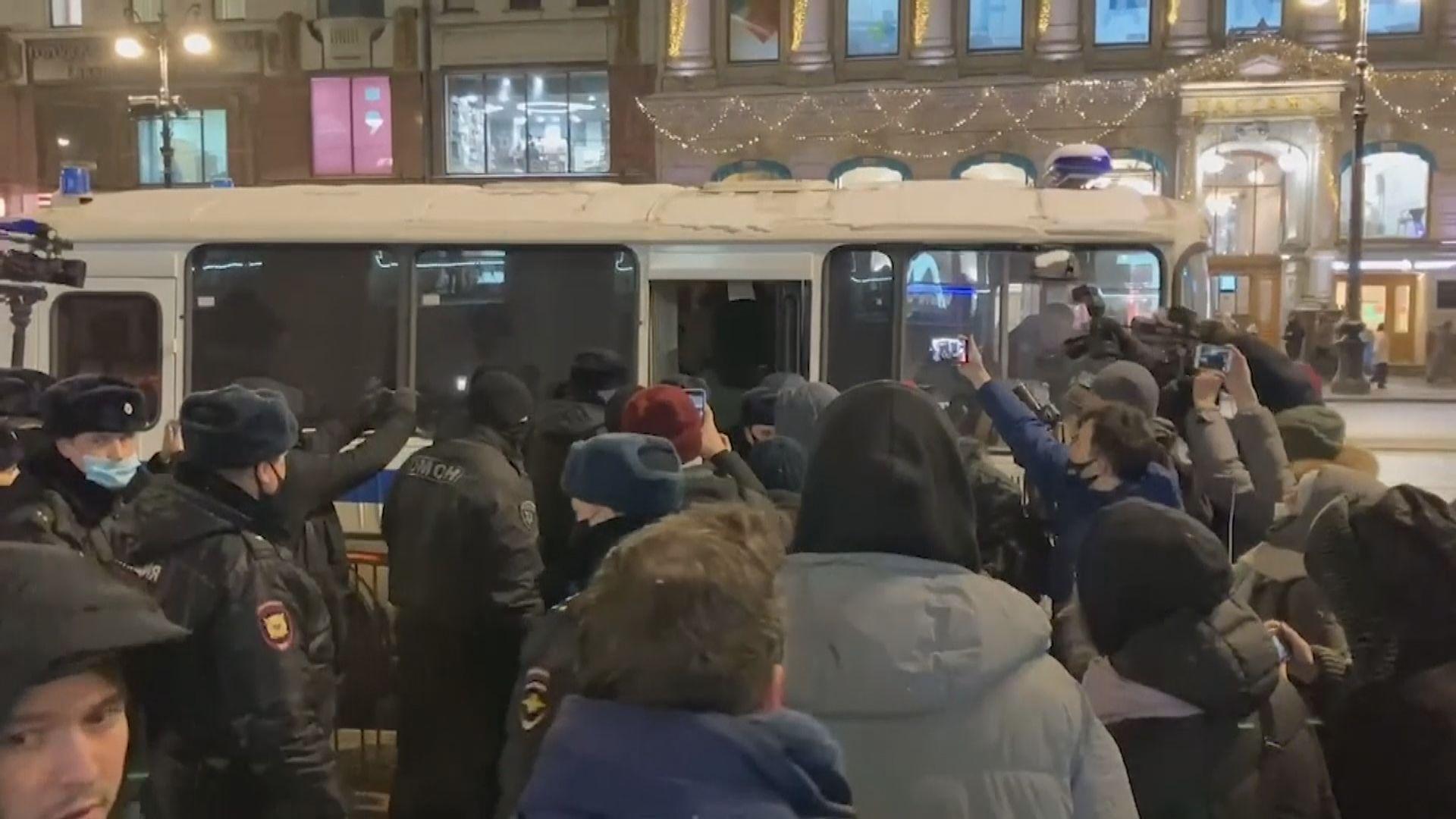 俄反對派領袖納瓦爾尼被扣留30天 引發示威多人被捕