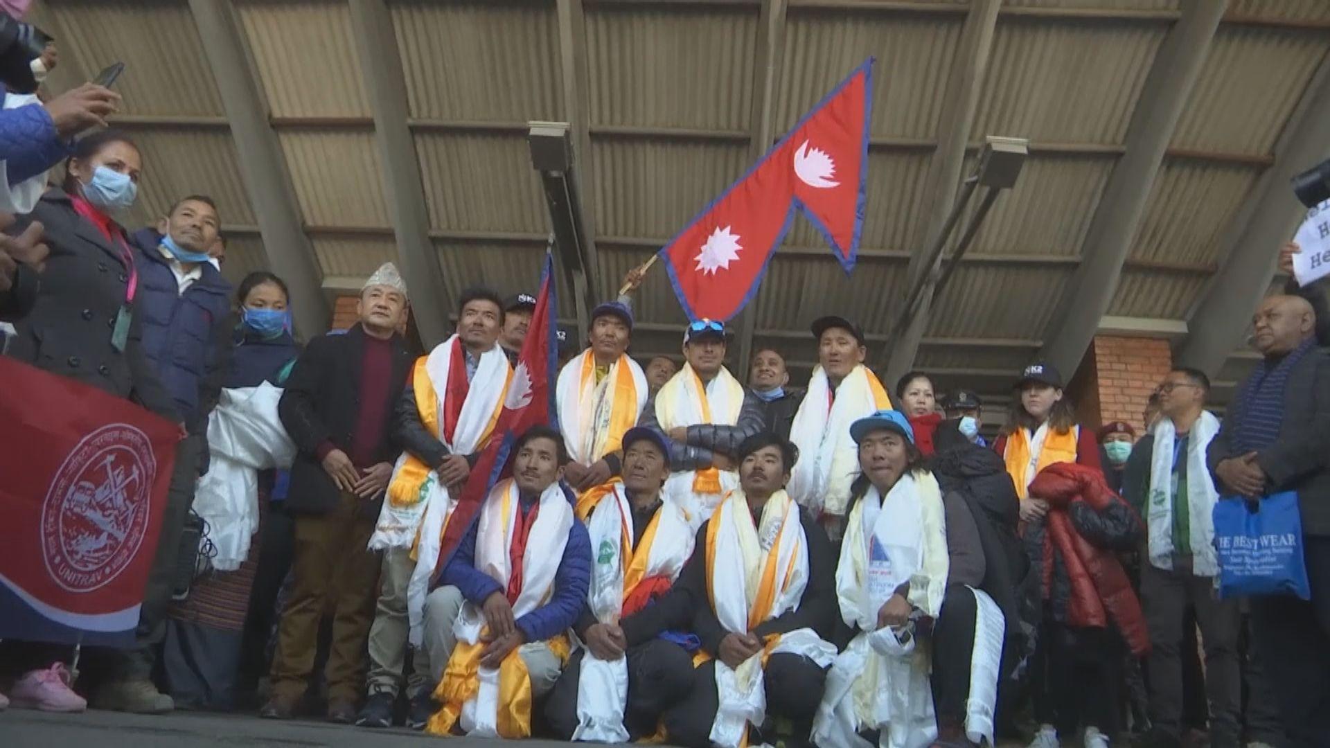 首支冬季征服喬戈里峰隊伍返尼泊爾