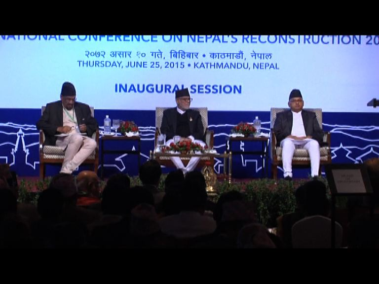 國際捐款未符尼泊爾重建要求