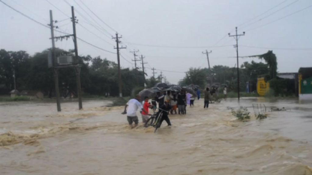 尼泊爾暴雨成災47人死逾30人失蹤