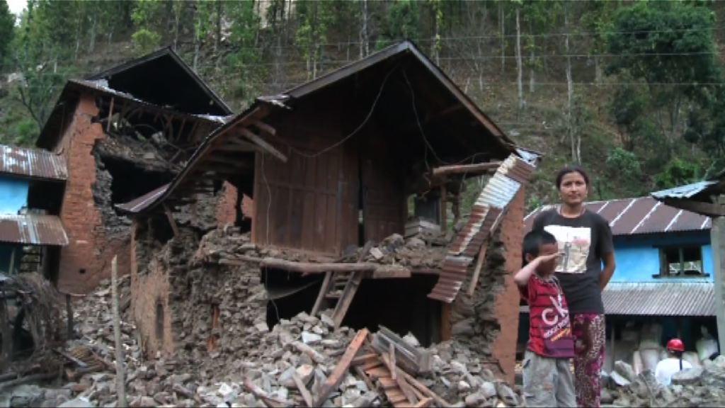 尼泊爾地震後重建工作嚴重滯後