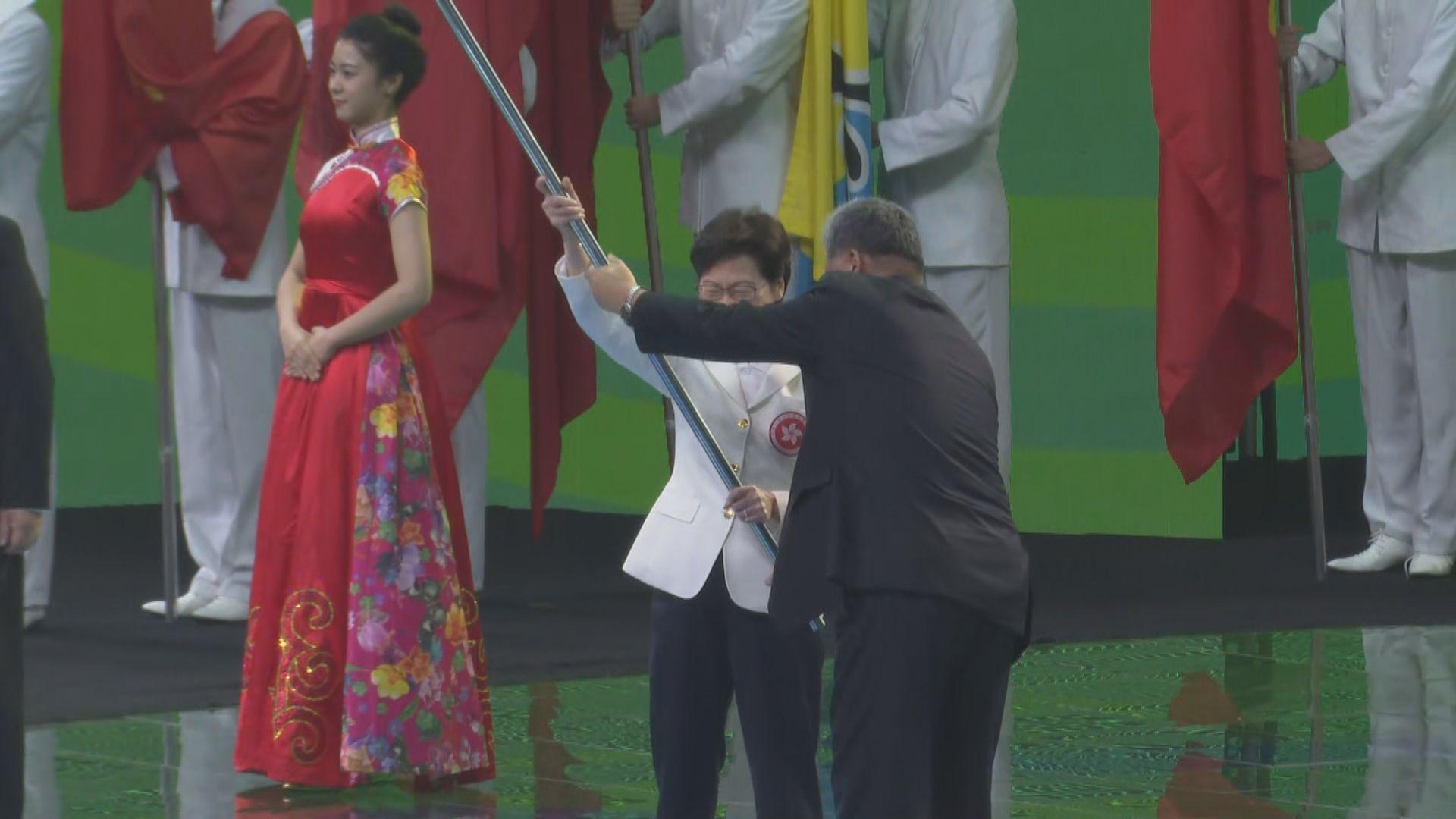 全運會晚上閉幕 授旗給下屆主辦方粵港澳三地
