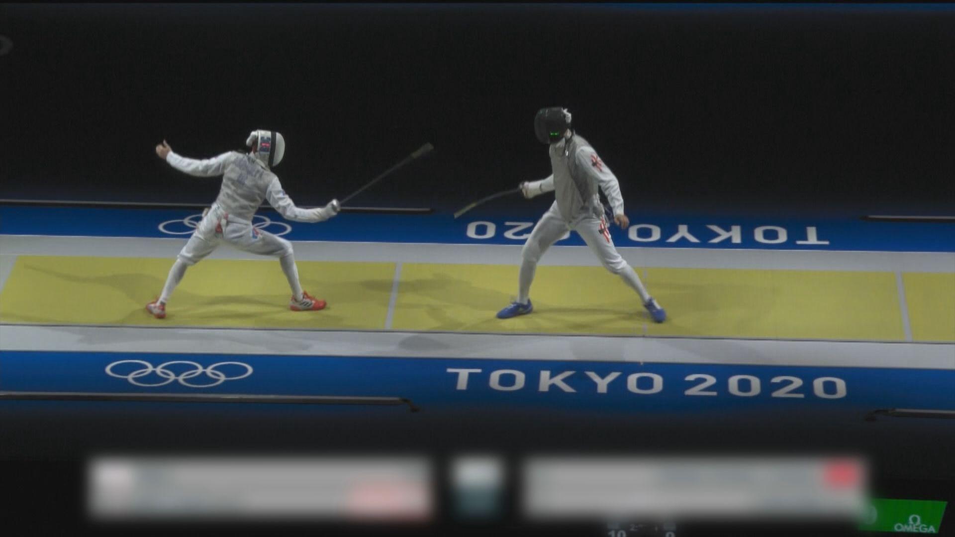 全運會男子花劍團體賽 港隊奪銅
