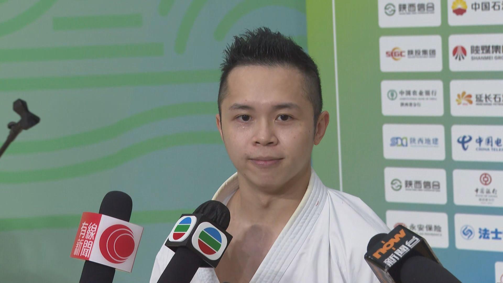 全運會空手道個人型 港隊劉知名躋身銅牌賽