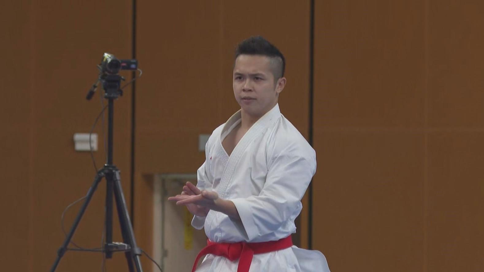 全運會空手道男子個人形 劉知名奪銅牌