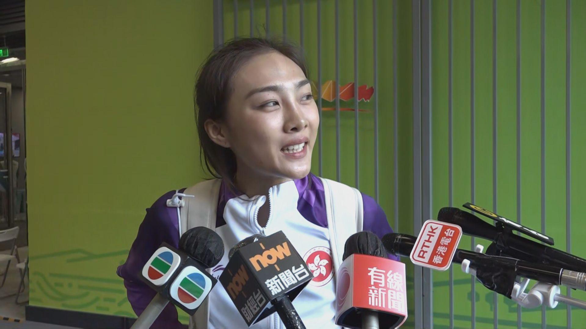 全運女子跳高 楊文蔚三跳1米8失敗無緣獎牌