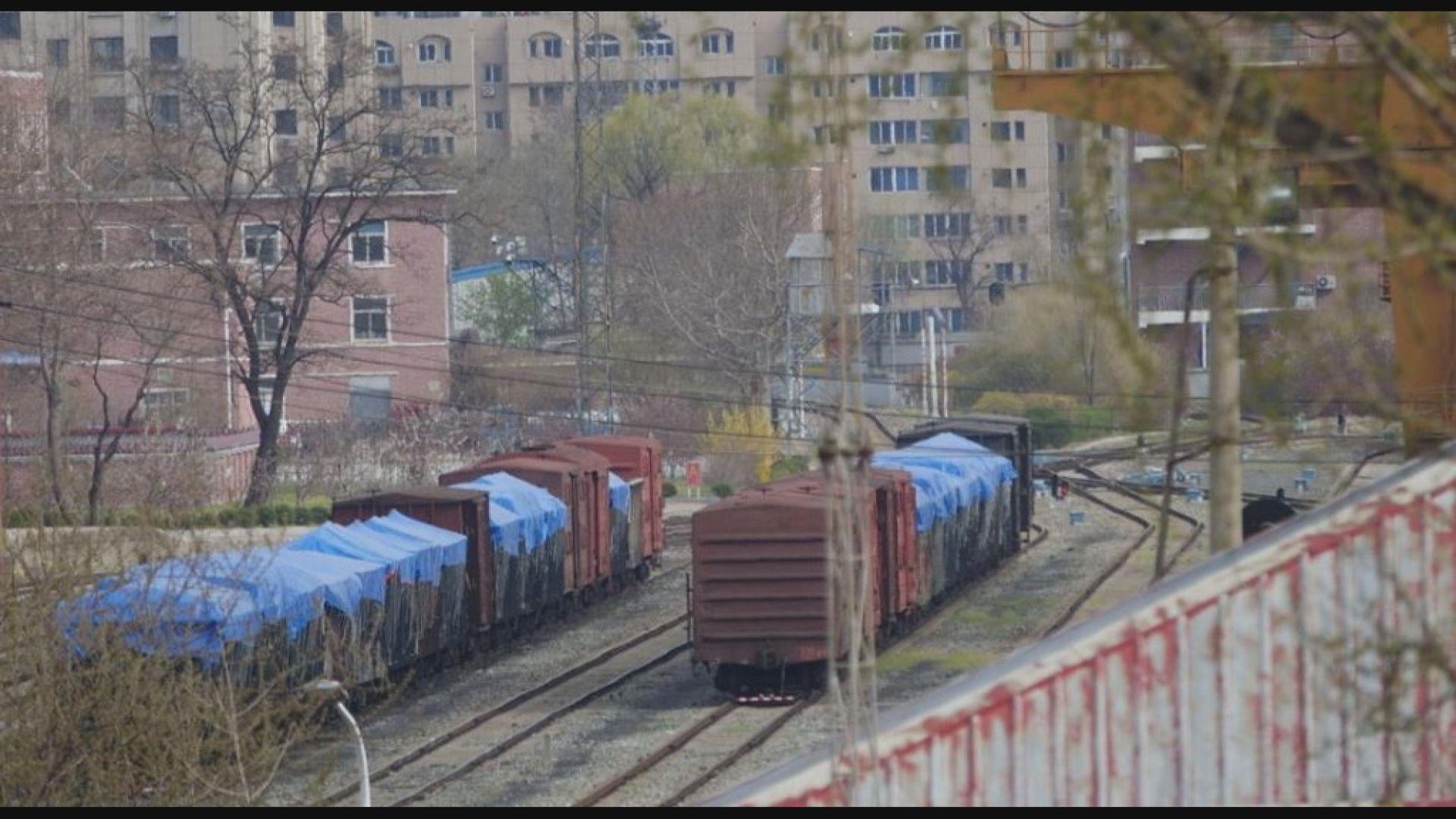 據報北韓中國下月或恢復鐵路運輸貿易