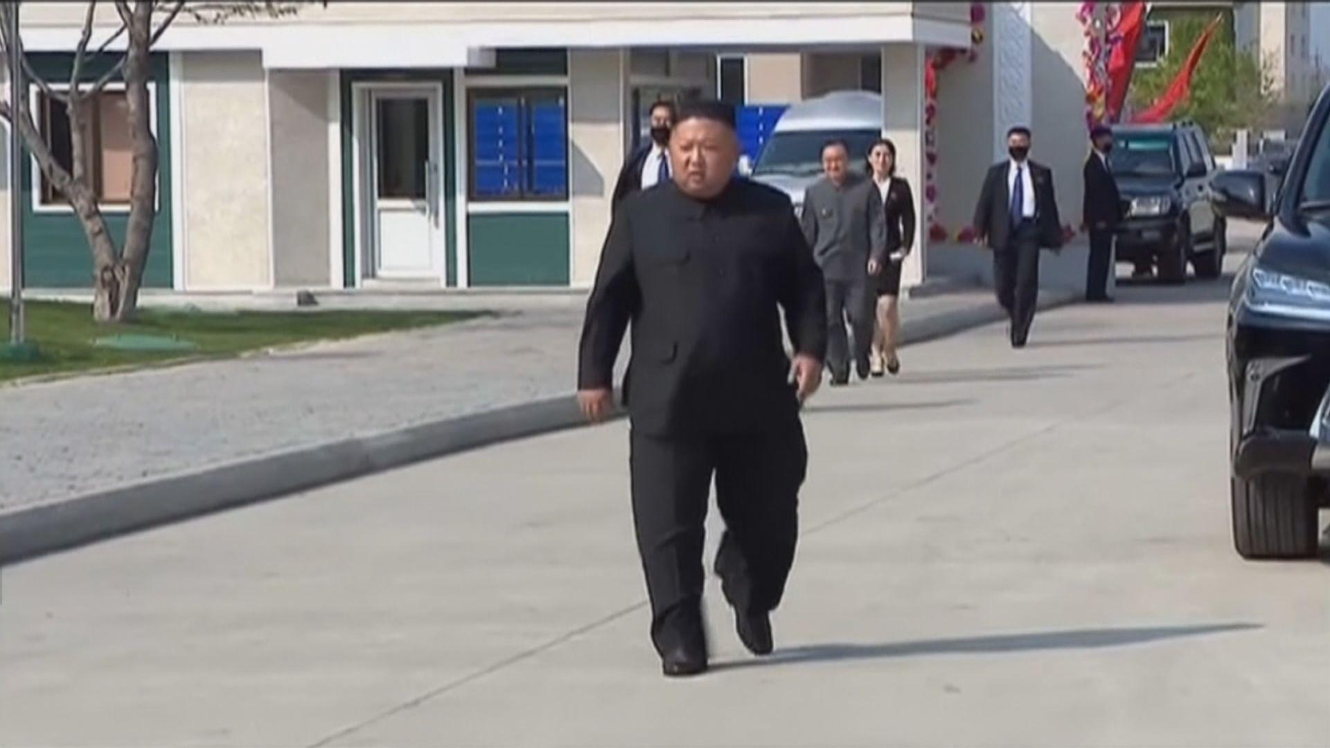 金正恩出席磷肥廠竣工儀式 行動自如打破病重傳言