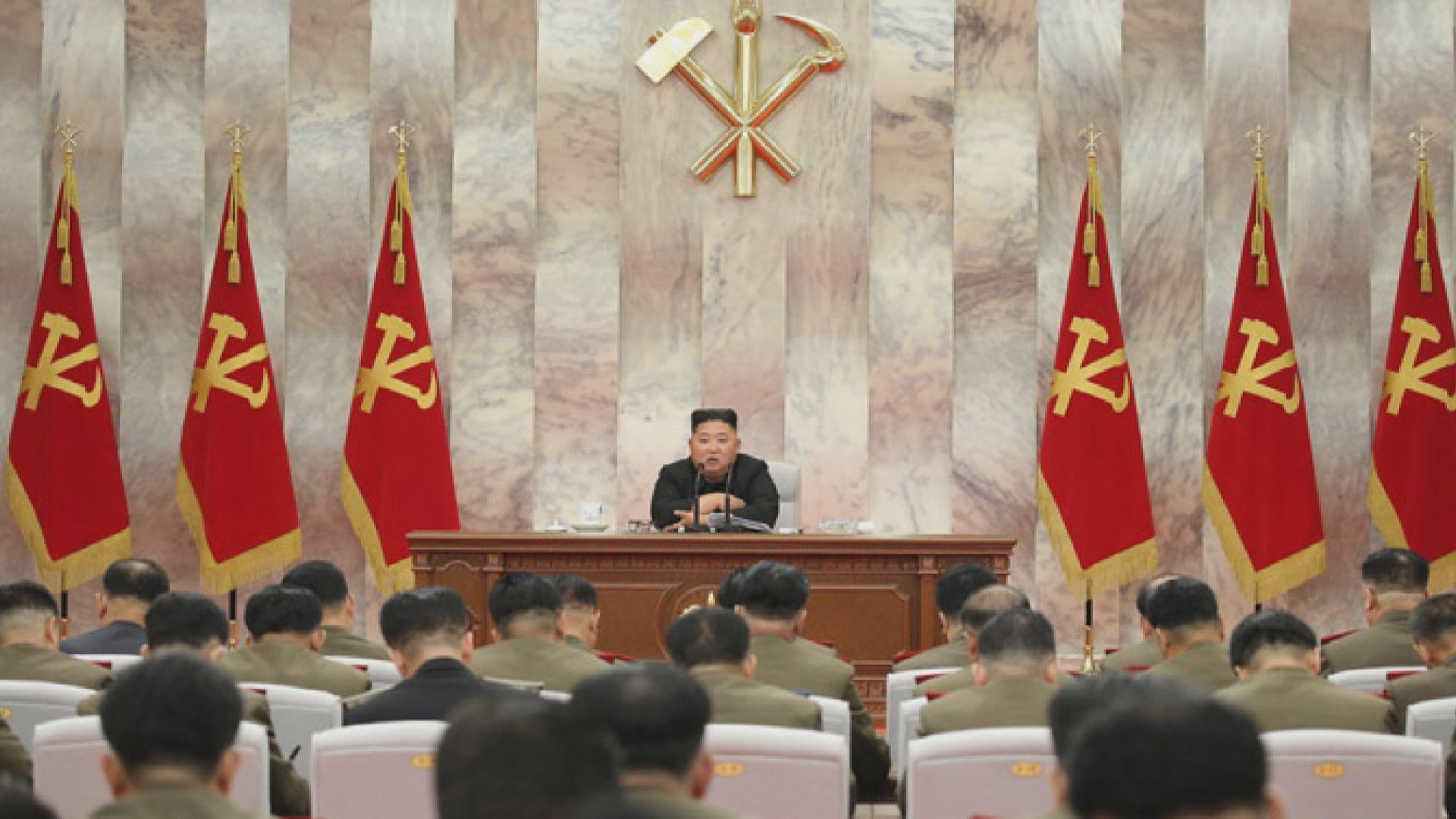金正恩再露面主持會議 會上提出強化核威懾力量