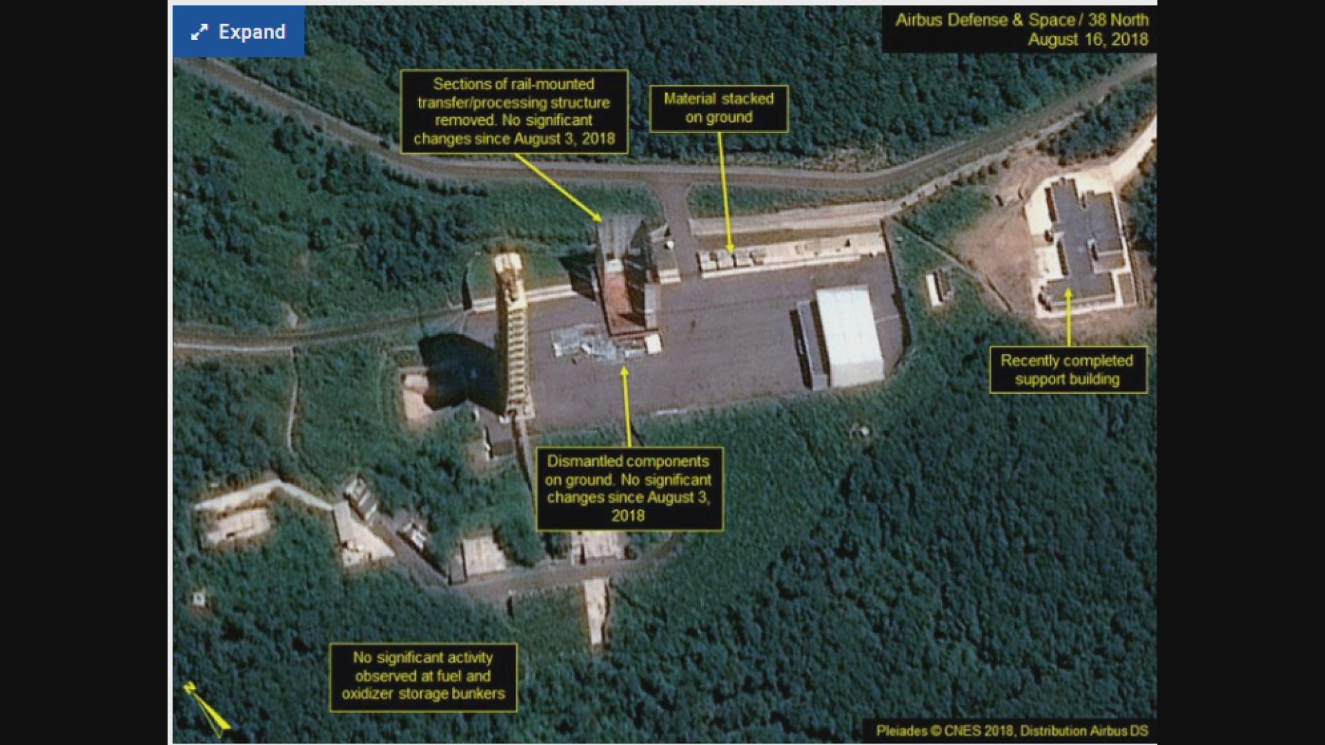 北韓或已停止拆卸衛星發射場