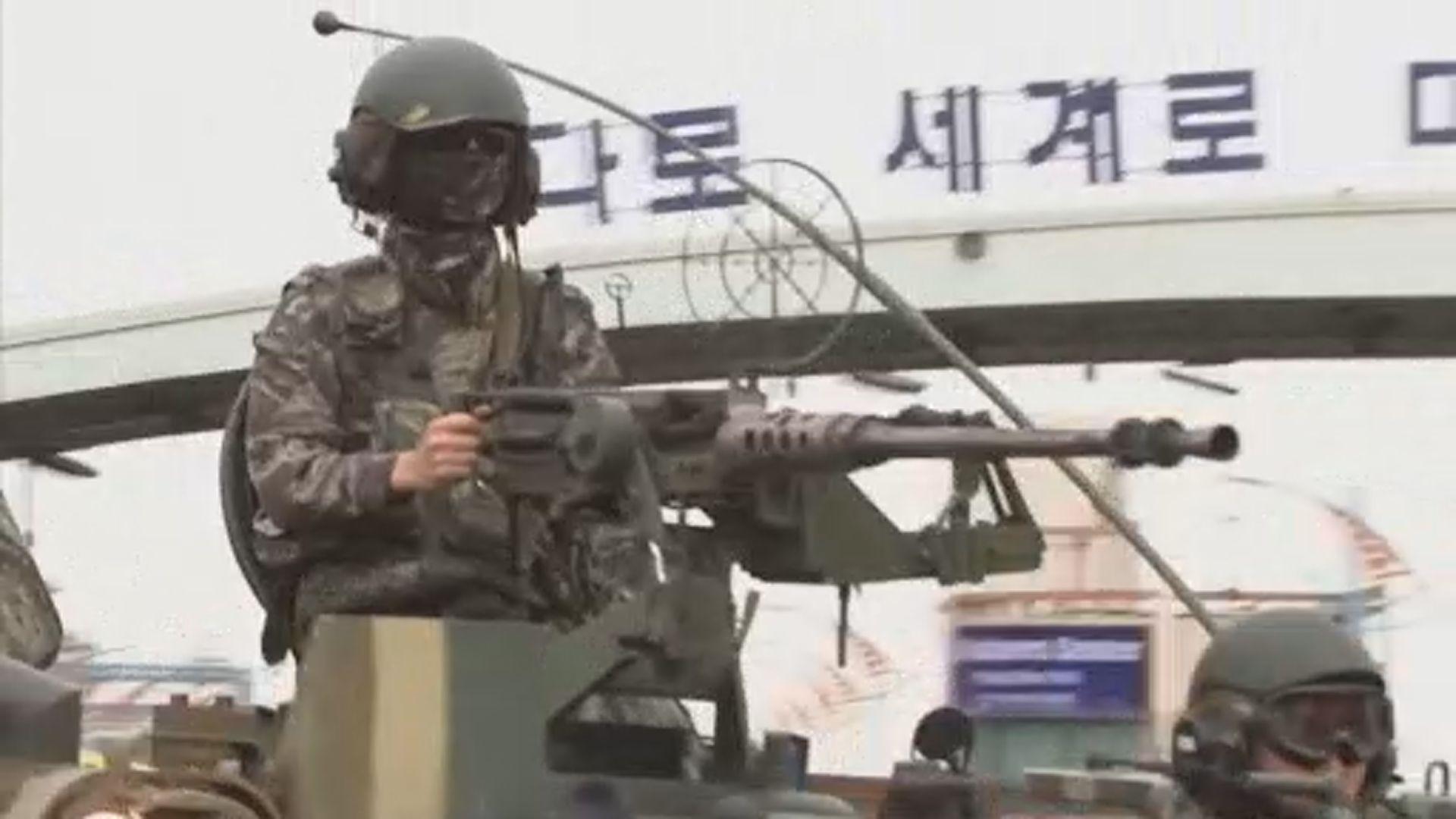 北韓官媒斥美韓軍演有違協議