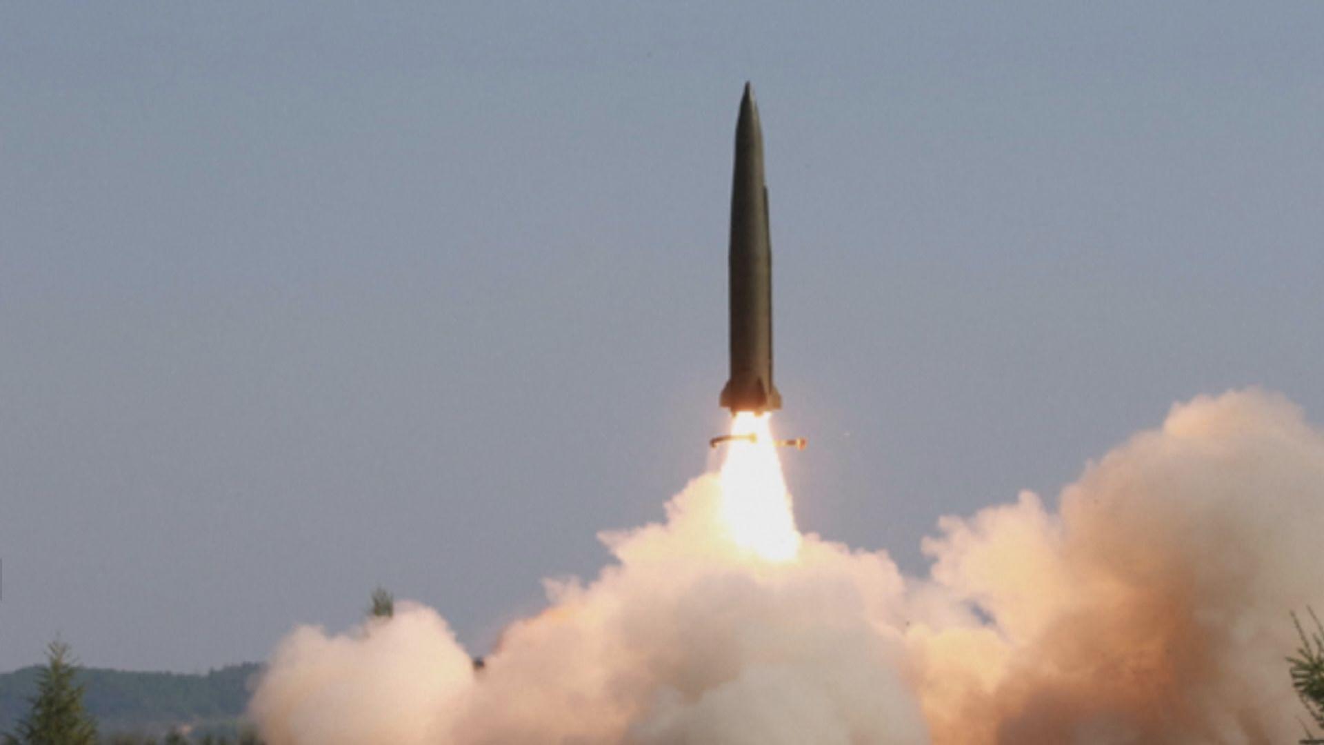 朝媒指金正恩親自指導發射制導武器