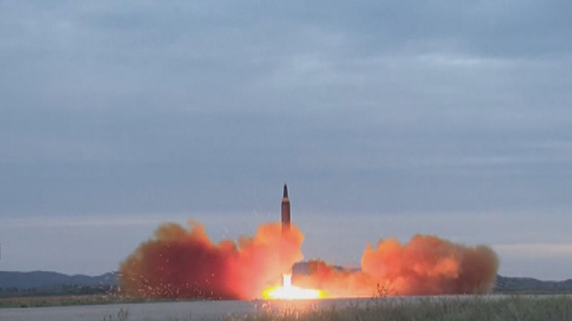 北韓發射多枚不明飛行物