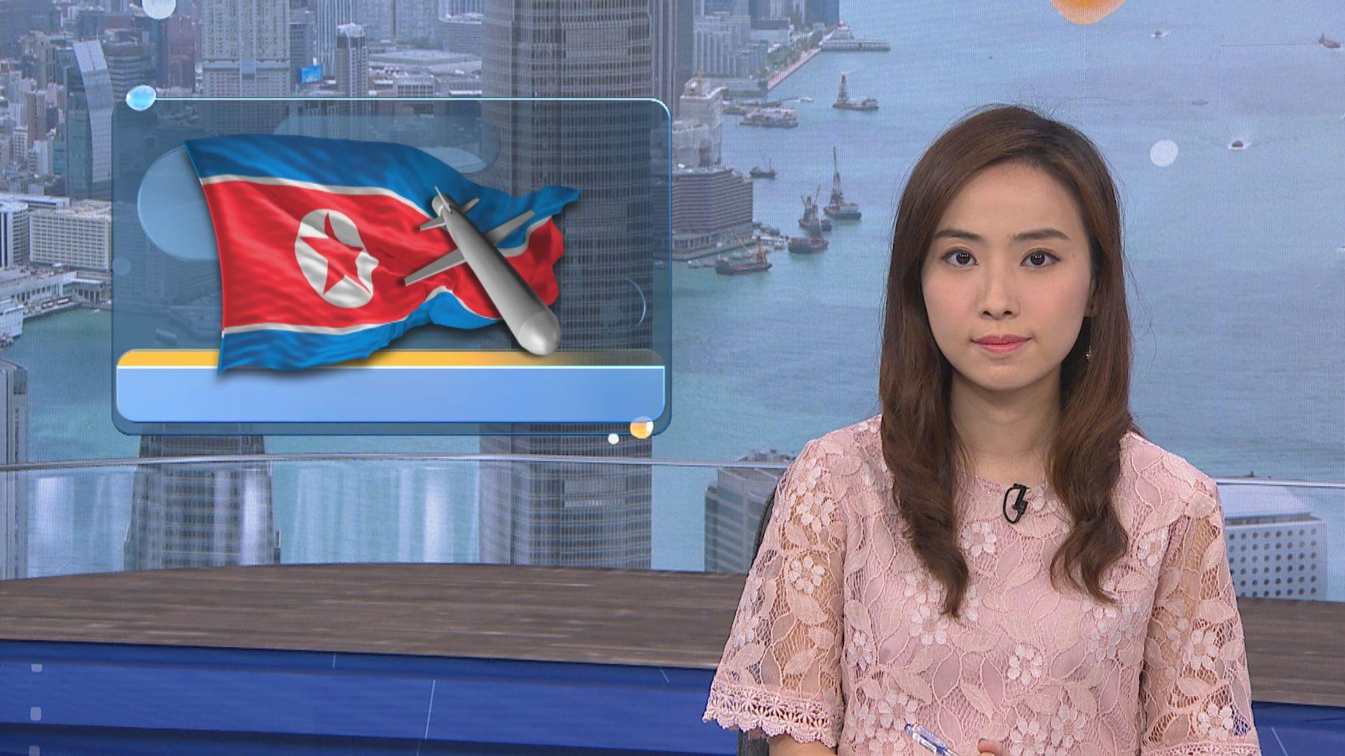 分析指北韓再試射是想對華府加強施壓
