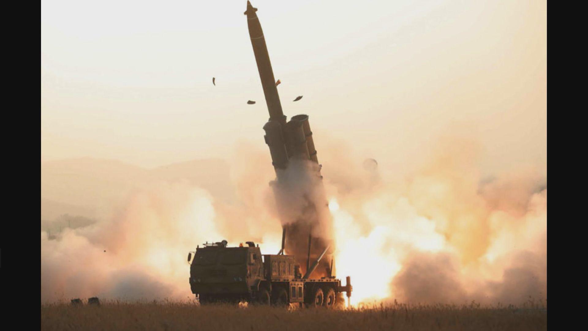 北韓試射超大型火箭炮 分析指提醒美國核談判期限年底屆滿