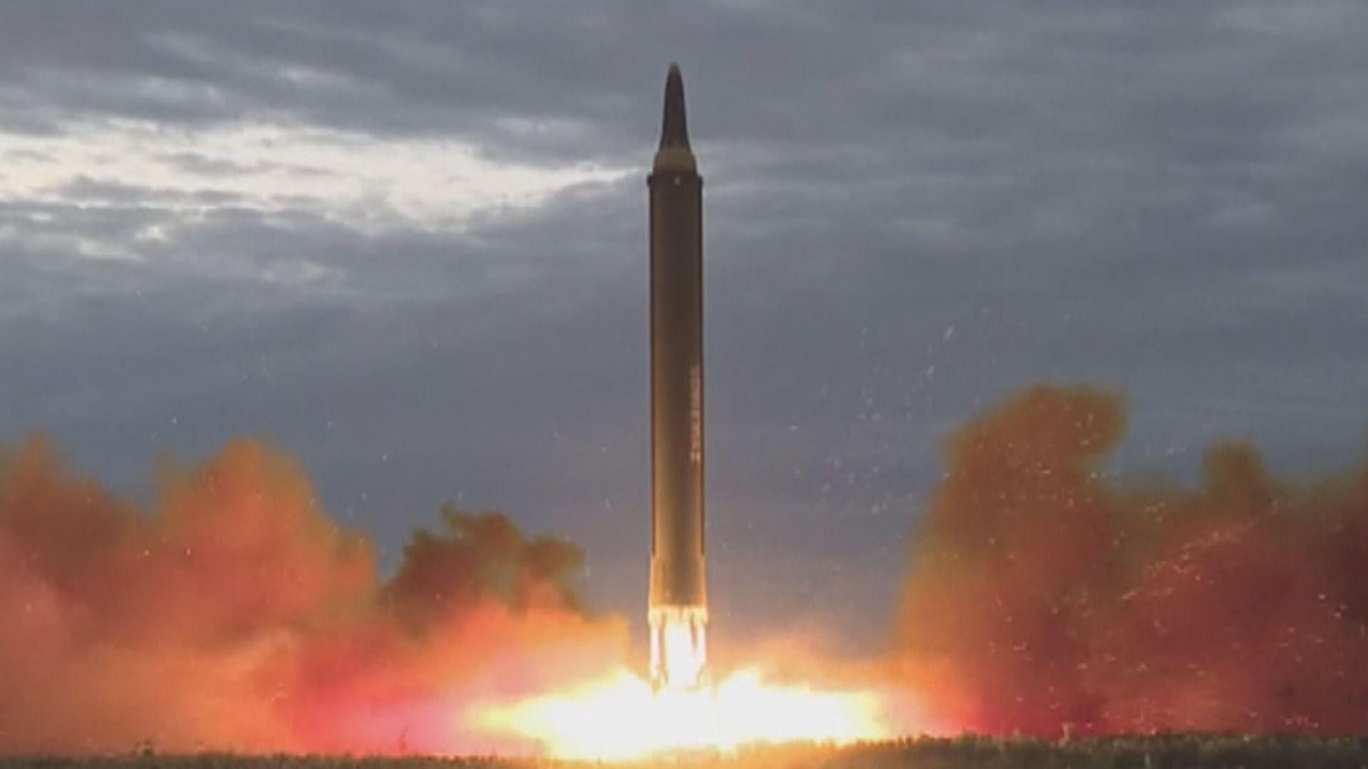 韓指朝發射飛行物或是新型火箭炮或地對地導彈