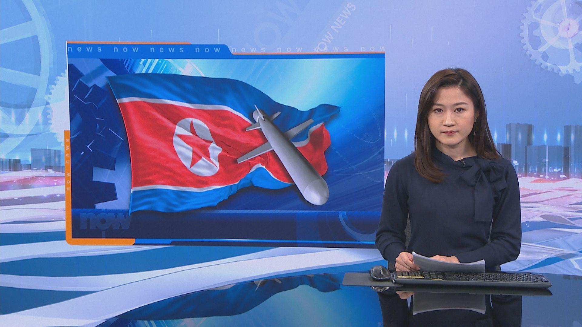 美日韓指北韓試射飛行物或是彈道導彈