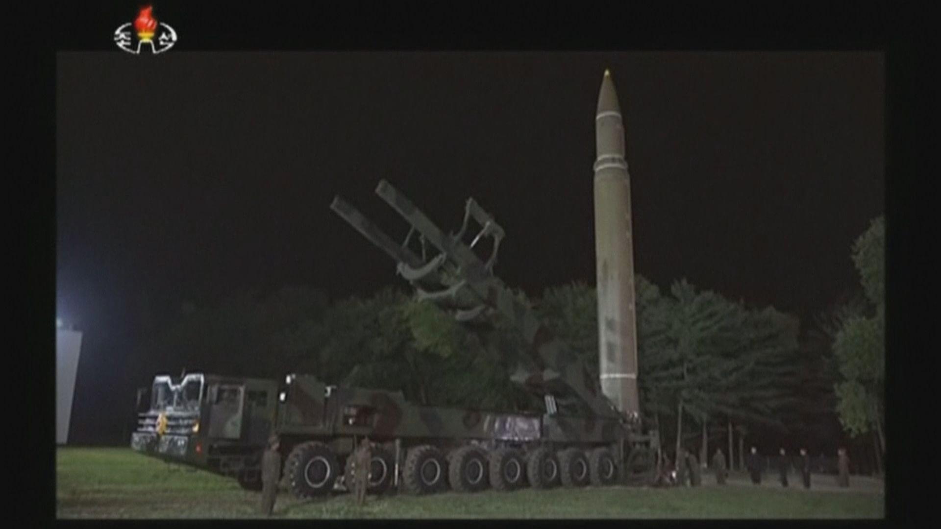 朝據報試射兩導彈 美日認為是彈道導彈違聯合國決議
