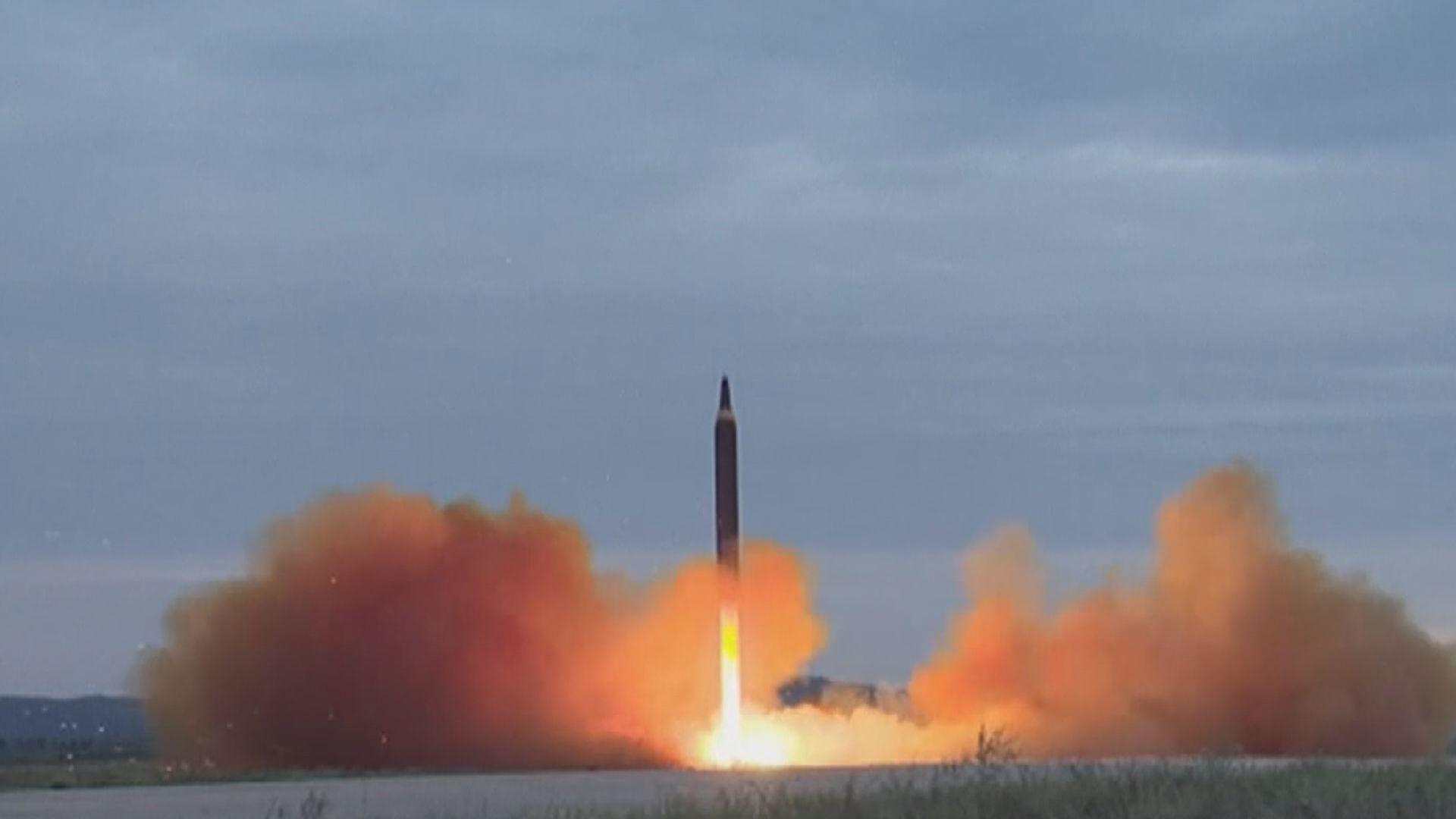 北韓再發試兩支導彈 日本聲稱落入其專屬經濟區海域