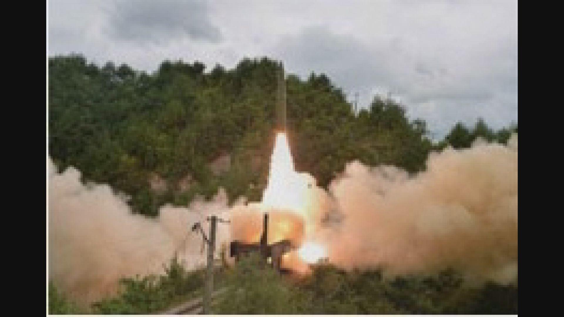 北韓宣布鐵路導彈部隊成功試射導彈