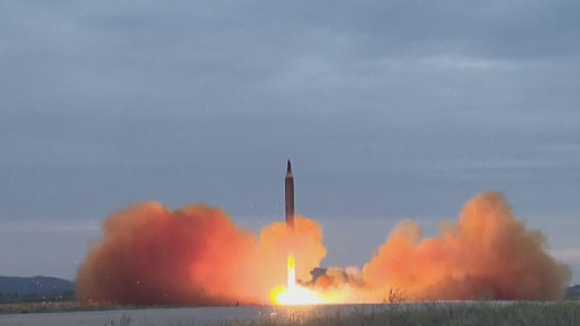 美國譴責北韓向東部海域試射導彈