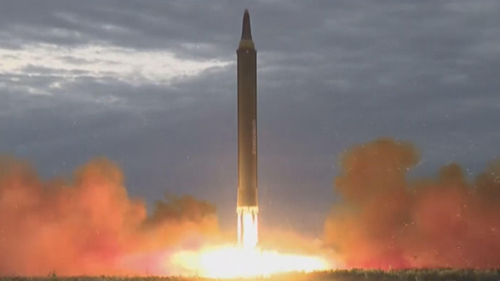 南韓對北韓試射導彈表遺憾 惟未視之為挑釁