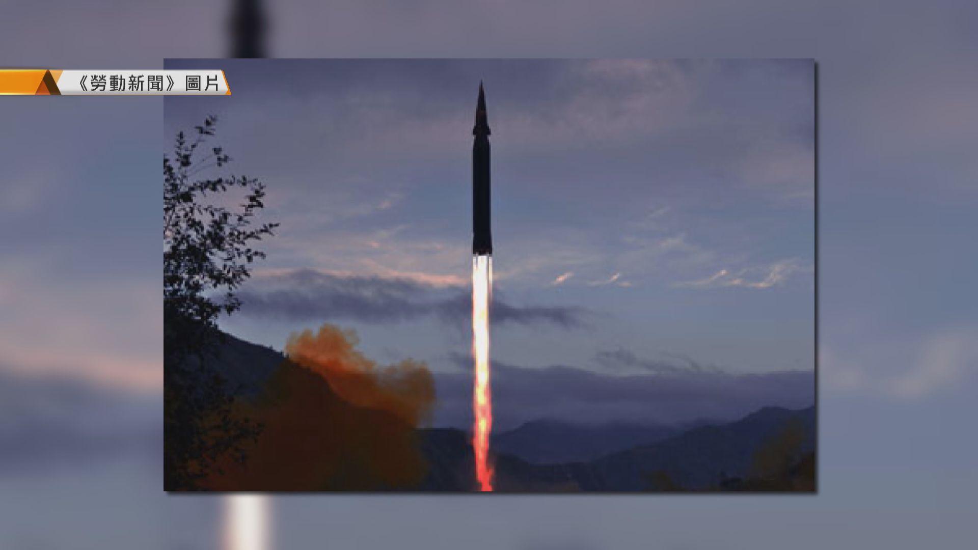 北韓指周二成功試射高超音速導彈