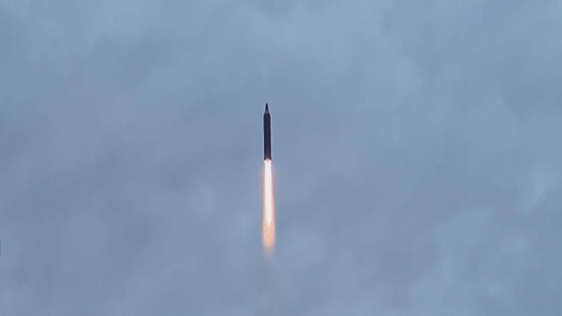 南韓軍方指北韓向東部海域發射彈道導彈
