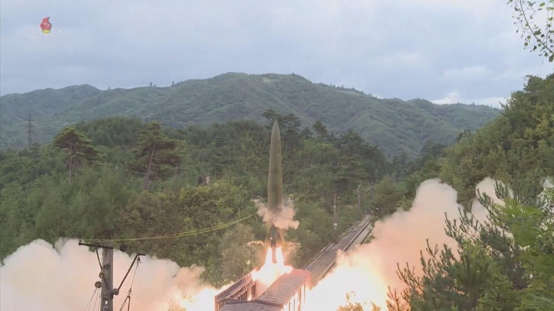 北韓試射新型潛射彈道導彈 分析稱或旨在加快導彈部署能力