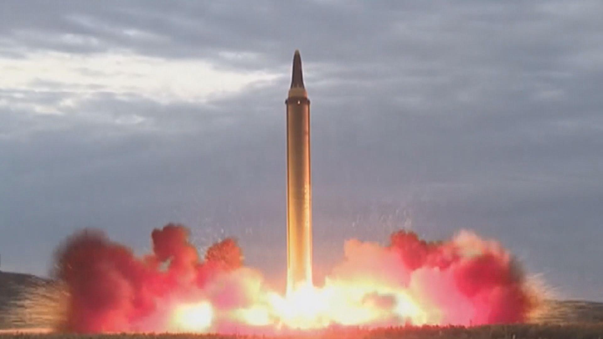 朝中社證實北韓試射超大型火箭炮