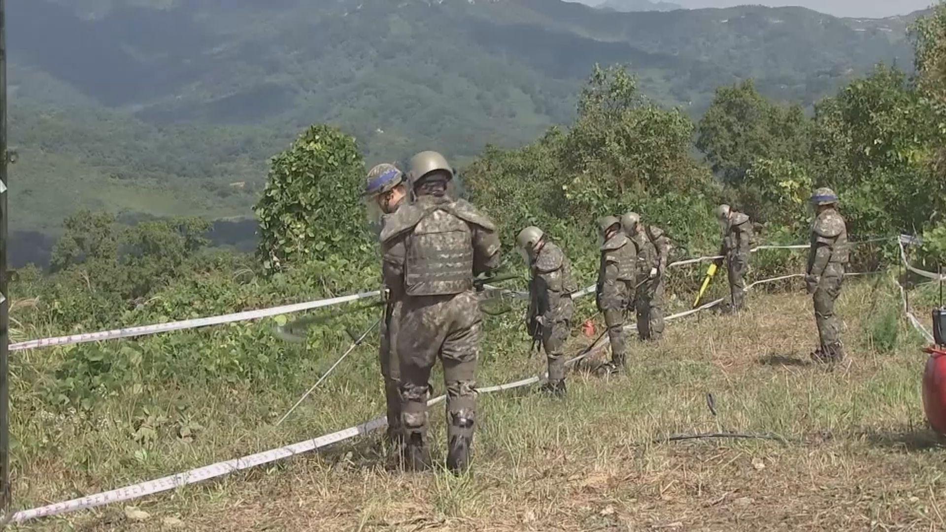 南北韓關係惡化 據報北韓持續派士兵到邊境哨站