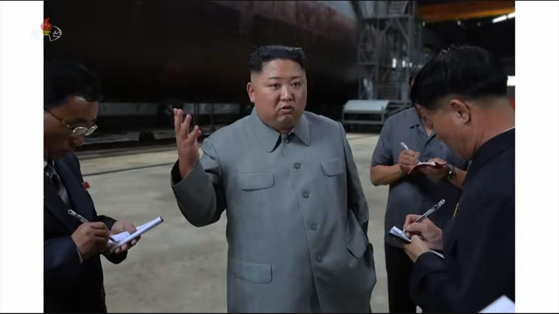 韓美情報指北韓新型潛艇建造完畢