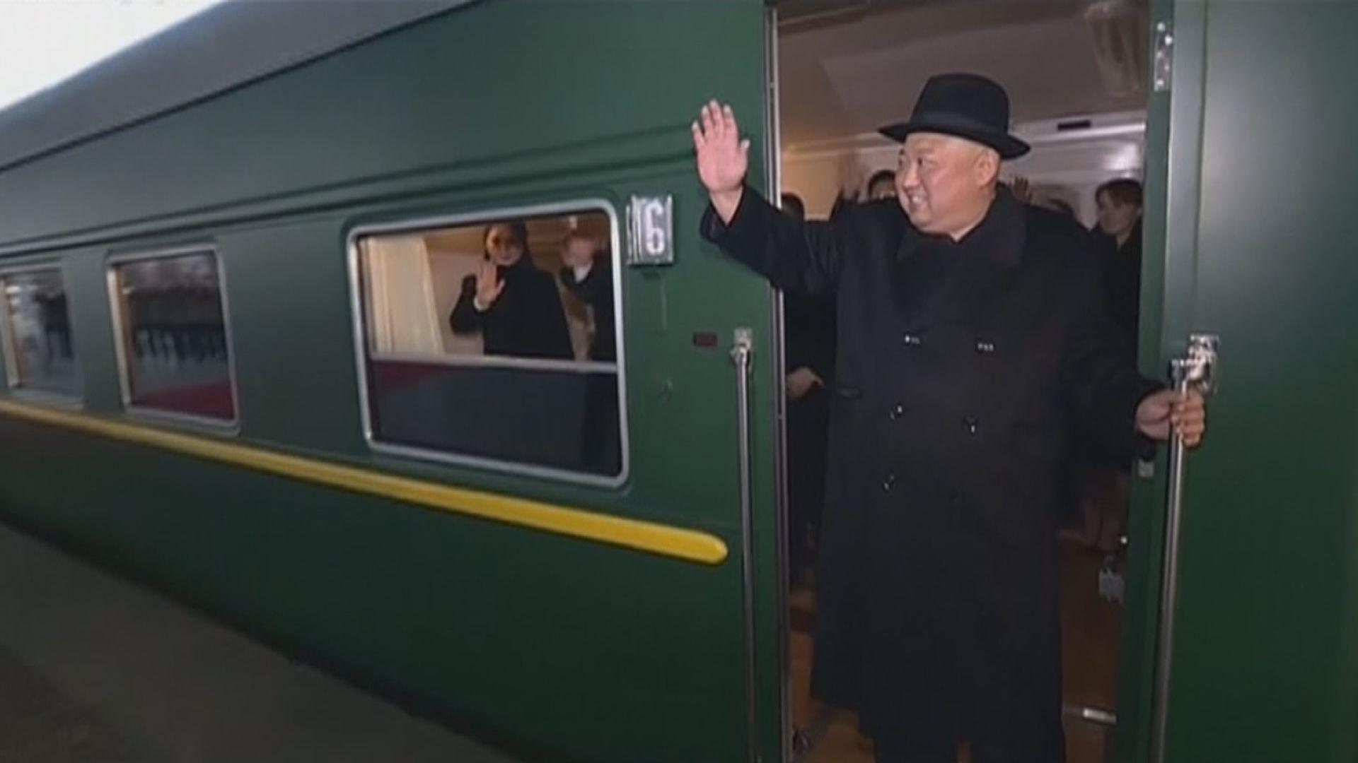 據報金正恩已啟程前往越南