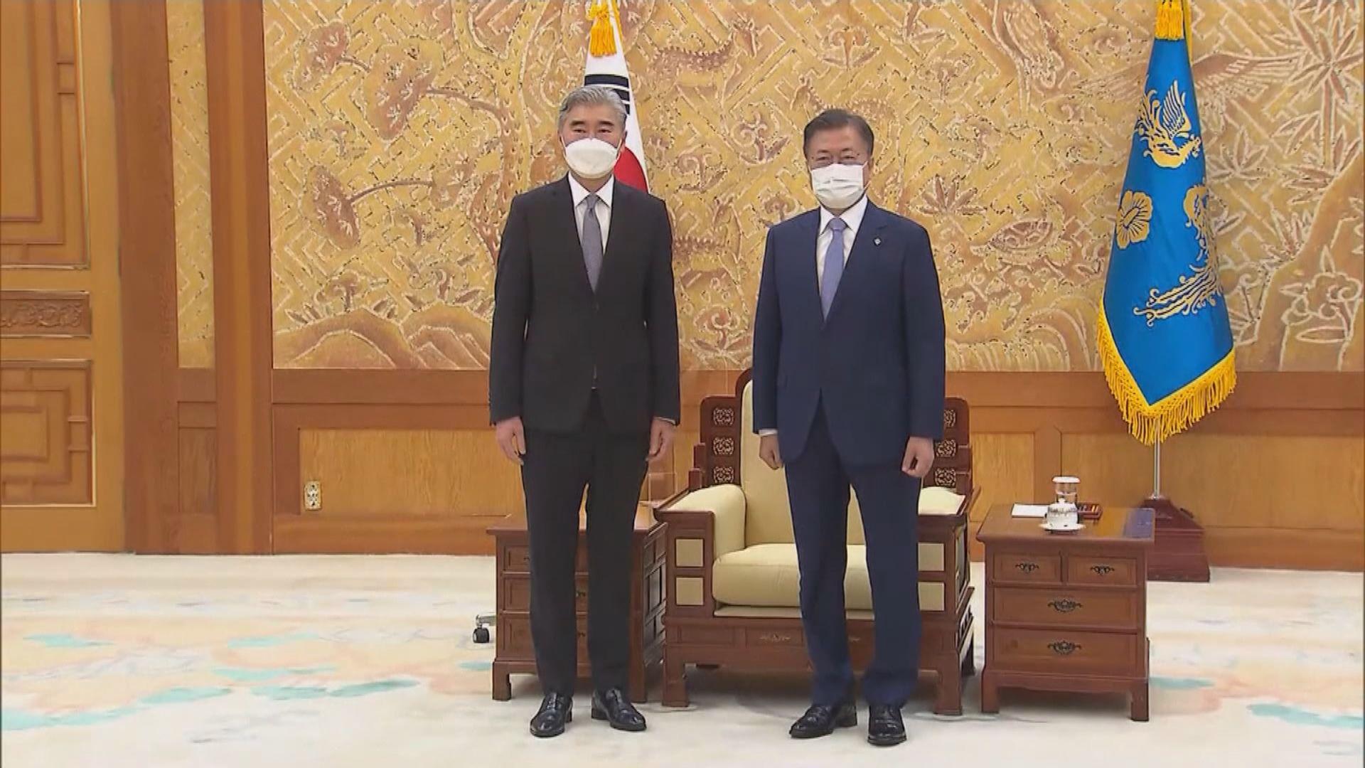 文在寅接見美國新任北韓事務特別代表 討論北韓問題