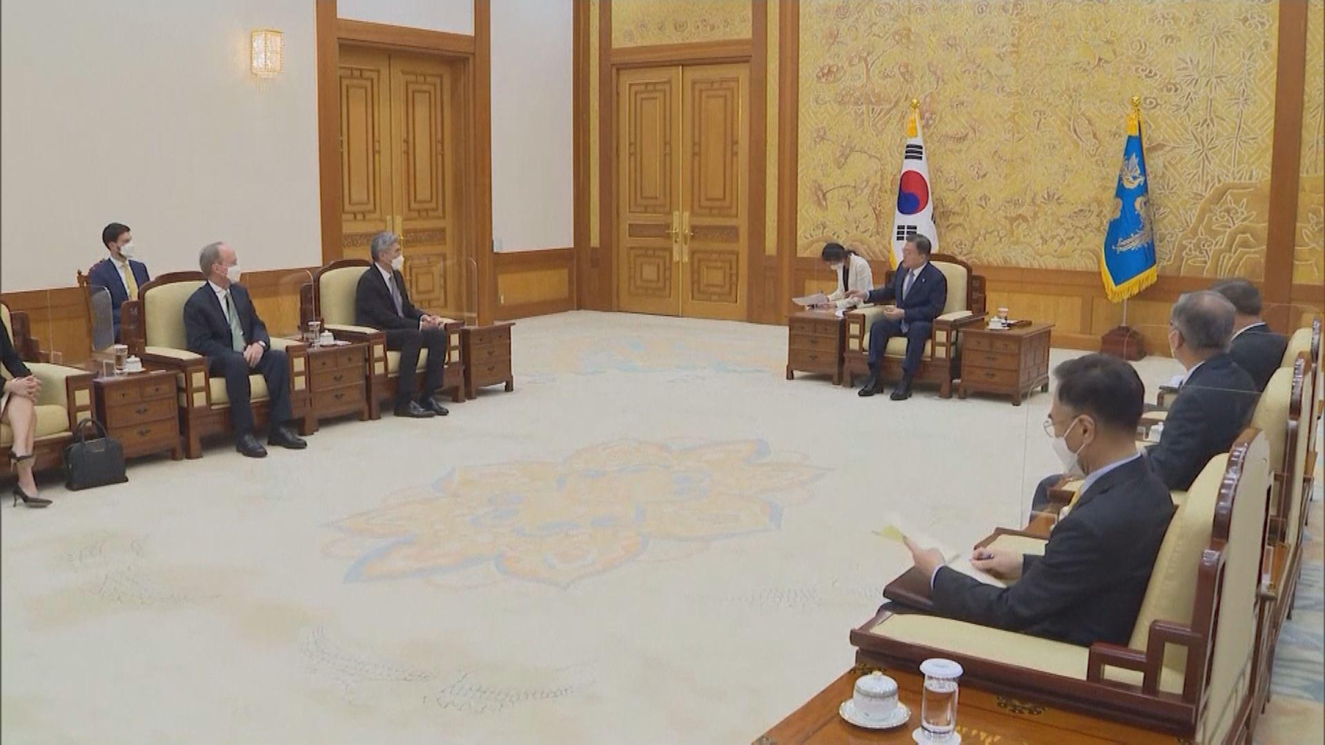 文在寅接見美國北韓事務代表 研廢除協調政策工作組