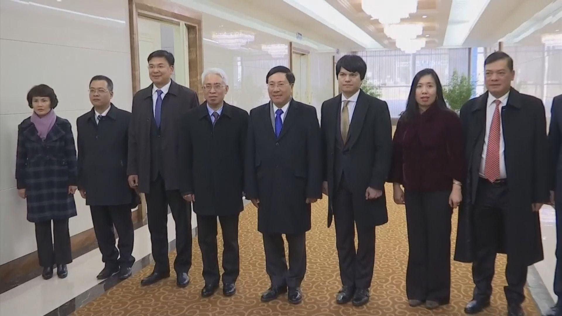 特金會前越南外長訪問平壤
