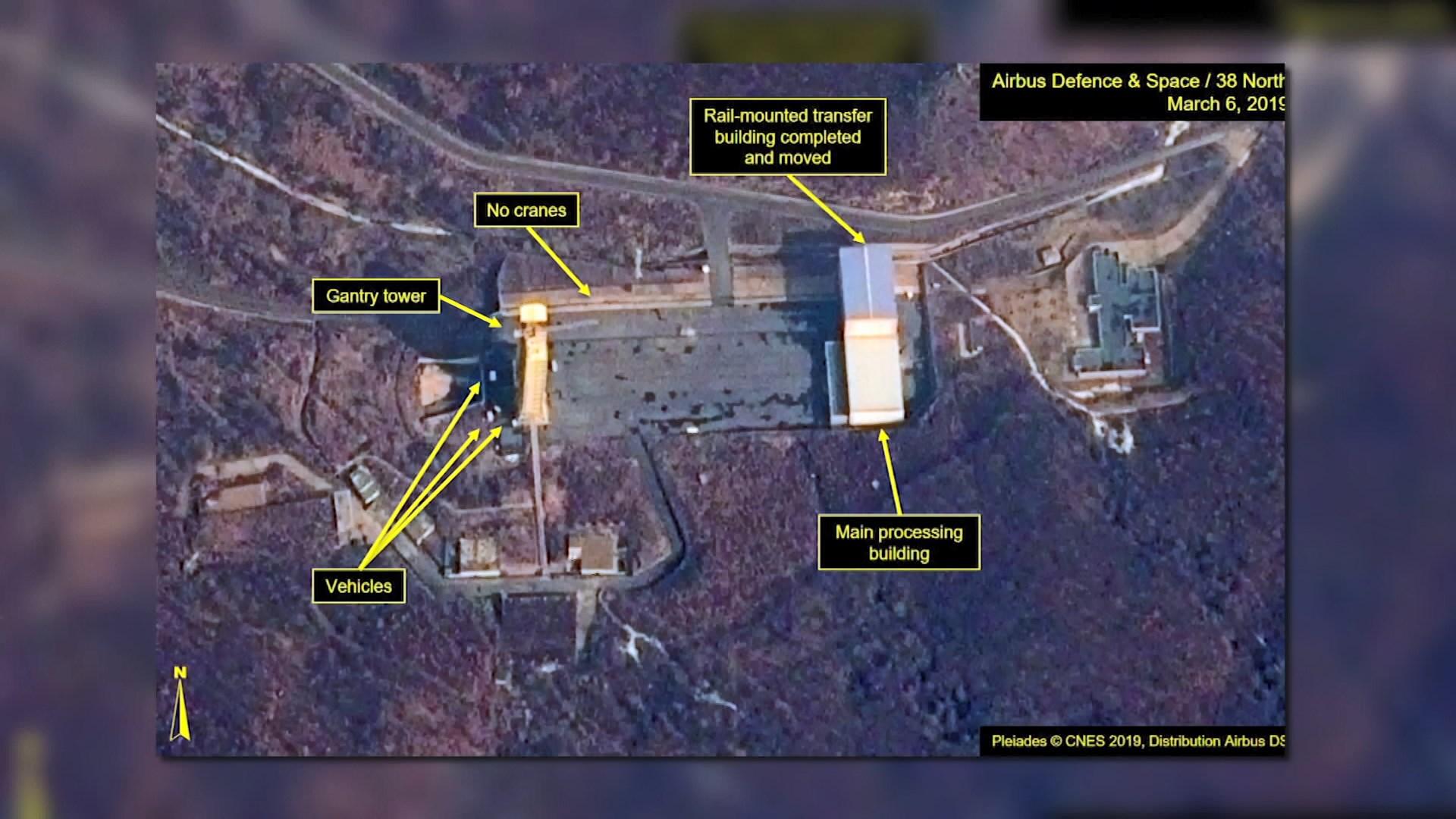 北韓東倉里發射場疑恢復運作
