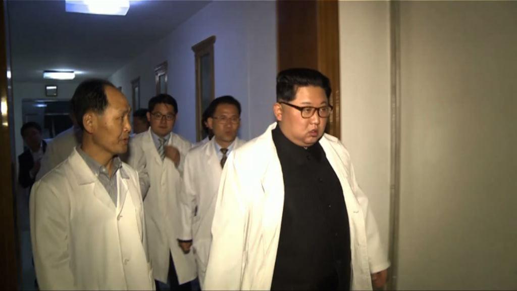 北韓車禍中國傷者回國 金正恩送行