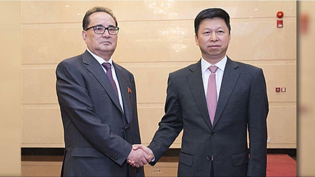 宋濤與金正恩親信李洙墉會晤