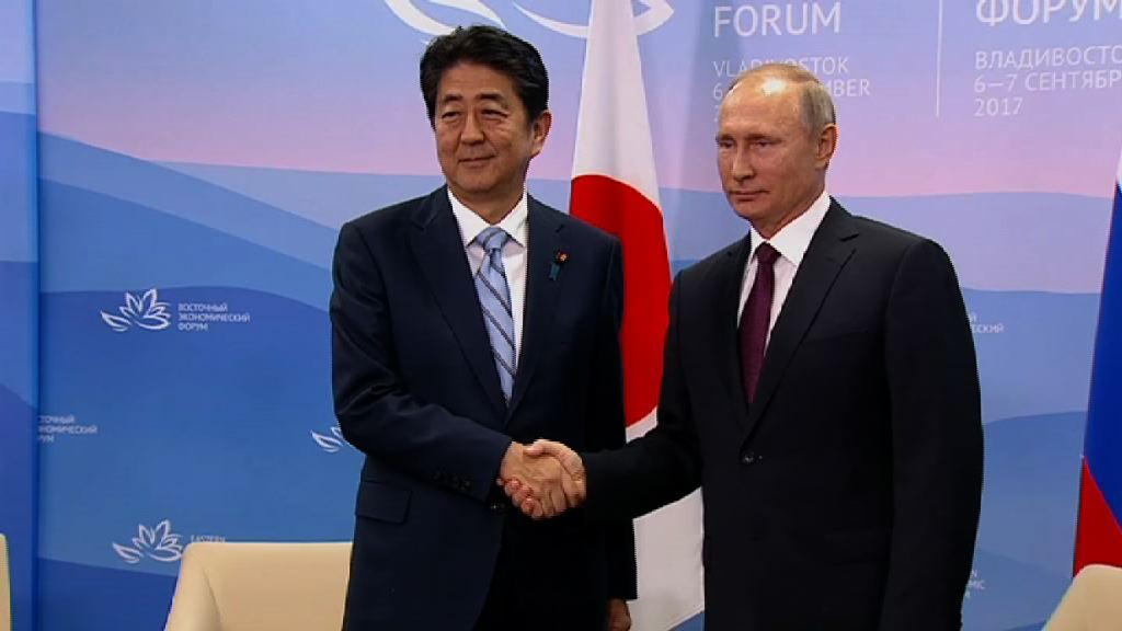 韓日俄領袖各會面商北韓核試