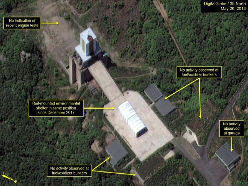北韓稱將摧毀引擎測試場惟未有行動